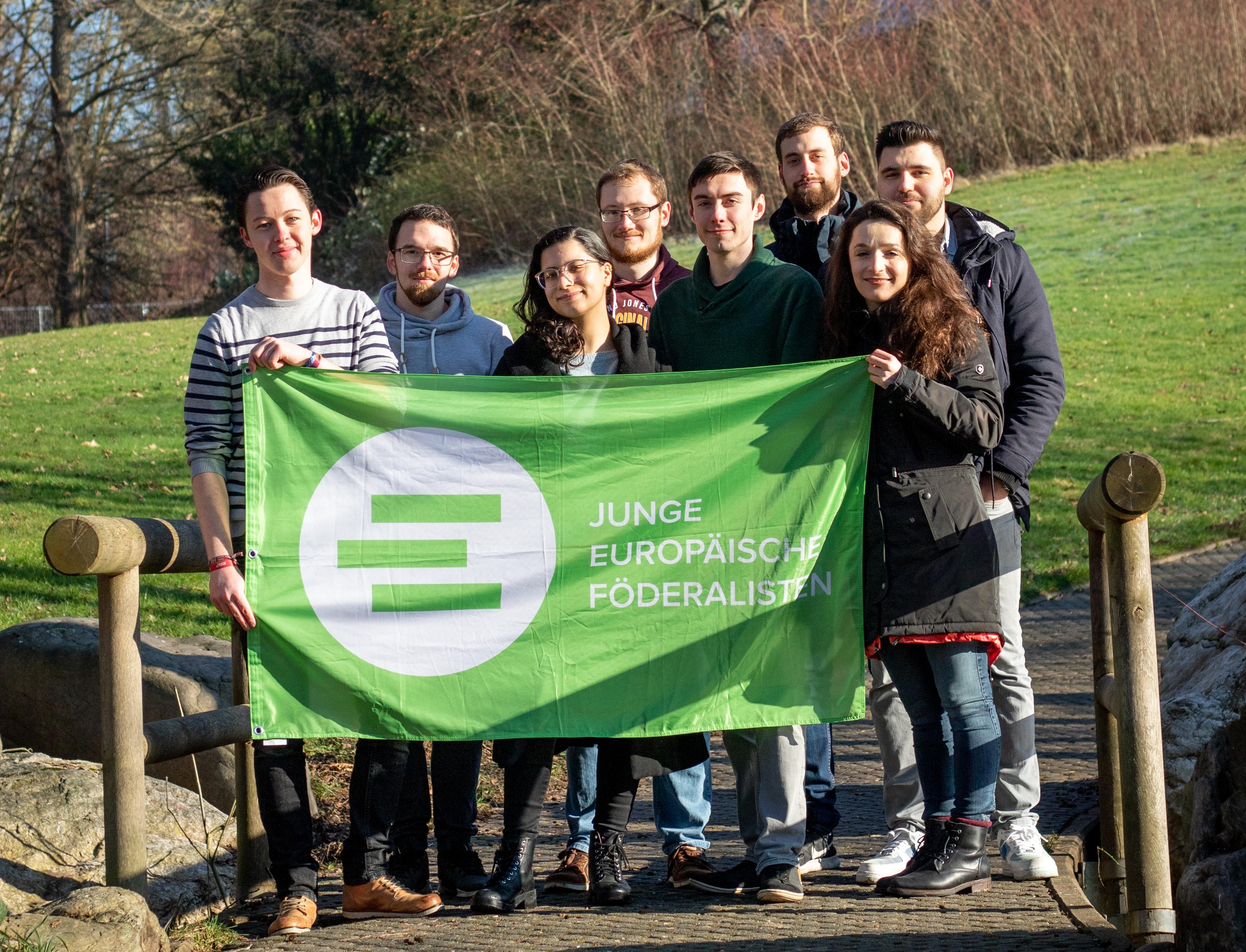 Mach mit bei den Jungen Europäischen Föderalisten Trier!
